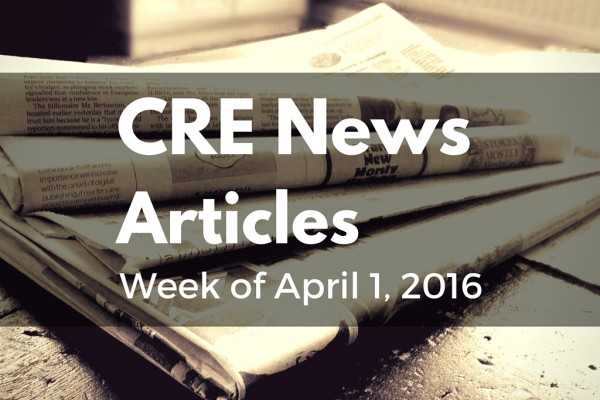 CRE News Articles - Rescour April 1