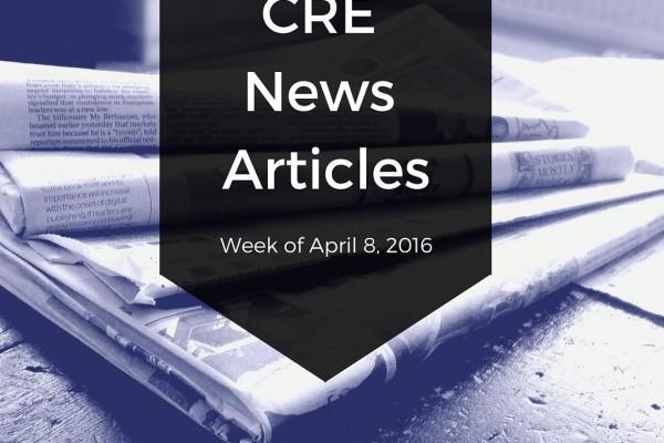 CRE News Articles - Rescour April 8