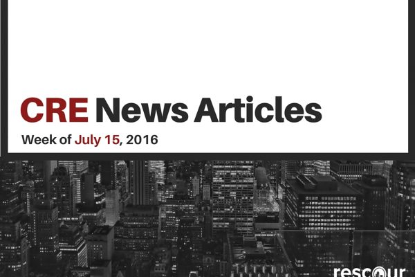 CRE News Articles - REscour July 15